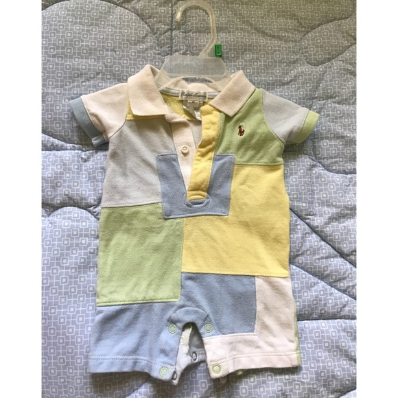 5c7646c9b Ralph Lauren One Pieces | Baby Boy Polo Onesie 3 Months | Poshmark